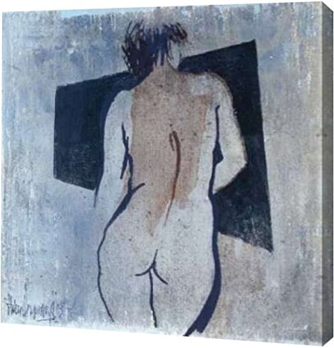 """PrintArt GW-POD-40-GA01_02256-30x30 """"Studies from the nude III"""" by Heleen Vriesendorp Gallery Wrapped Giclee Canvas Art Print, 30""""x30"""""""