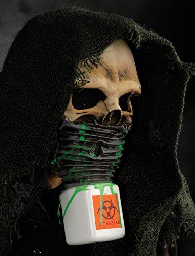 Survivor Toxic Skull Halloween Mask (Morris Skull Mask)