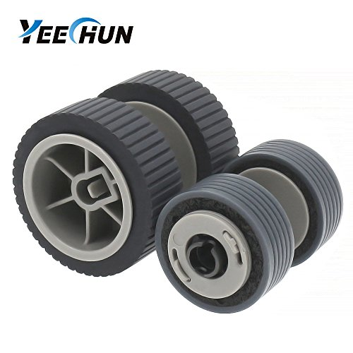 YEECHUN (200000 Page) Scanner Brake and Pick Roller Pickup Roller Set for Fujitsu 6125 6225 6230 6140 6240 6120 Fi-6125 Fi-6225 Fi-6130Z Fi-6230 Fi-6140 Fi-6240 Fi-6120 P/N: PA03540-0001, PA03540-0002 by YEECHUN