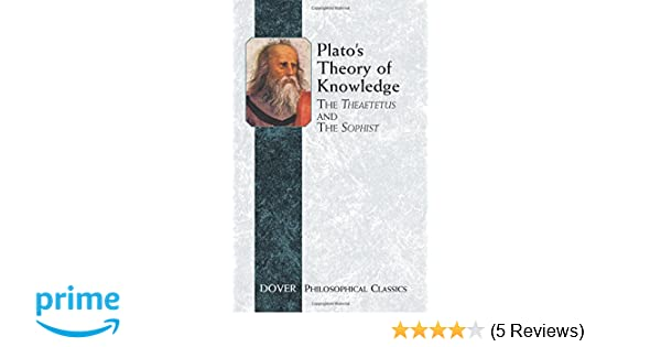 plato theory of knowledge analysis