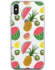 Oihxse Funda iPhone 11 Pro MAX, Ultra Delgado Transparente TPU Silicona Case Suave Claro Elegante Creativa Patrón Bumper Carcasa Anti-Arañazos Anti-Choque Protección Caso Cover (A4)