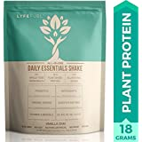Meal Replacement Shakes by LyfeFuel - Complete Low Carb Plant Based Protein + Organic Superfood Powder - Ideal Shake for Men & Women on Keto, Vegan or Vegetarian Diet (Vanilla Chai, 24 Servings)