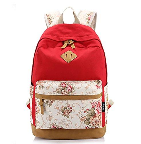 Fancybox - Bolso mochila para mujer Talla única Rosso