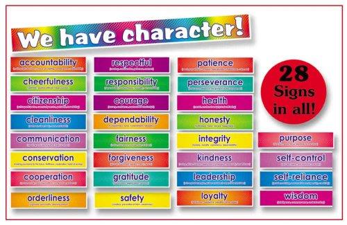 - Scholastic Teacher's Friend Character Signs! Bulletin Board (TF3086)