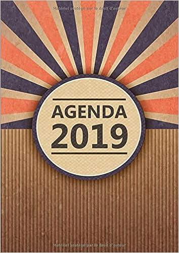 Agenda: Semainier - Grand Format A4 - Vintage Carton Bleu ...