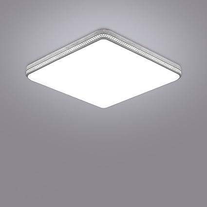 Cdbl -Lámpara de Techo Dormitorio nórdico Dormitorio Luces LED/cálida Sala de Estar Simple