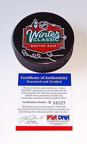 - Bobby Orr Autographed Puck - 2010 Winter Classic Coa K38327 - PSA/DNA Certified - Autographed NHL Pucks