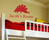 Alphabet Garden Jacob's Room Personalized Faith Wall Decal, 46'' Height, Dark Turquoise
