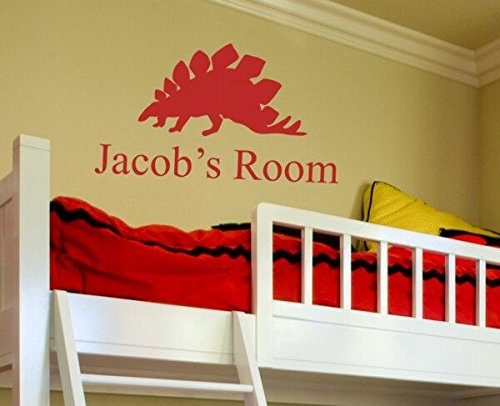 Alyssas Garden - Alphabet Garden Jacob's Room Personalized Alyssa Wall Decal, 46