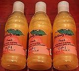 Avojuice Silk Body Wash Peach 207 mL-7 oz. x 3 piece
