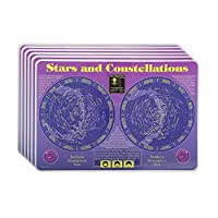 M. Ruskin Company Stars & Constellations Placemat Set of 6