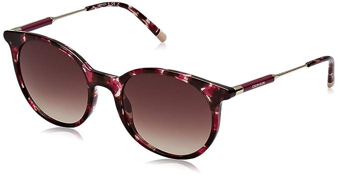 Calvin Klein 205W39nyc Ck3208S 528 54 Gafas de sol, Purple Havana, Mujer