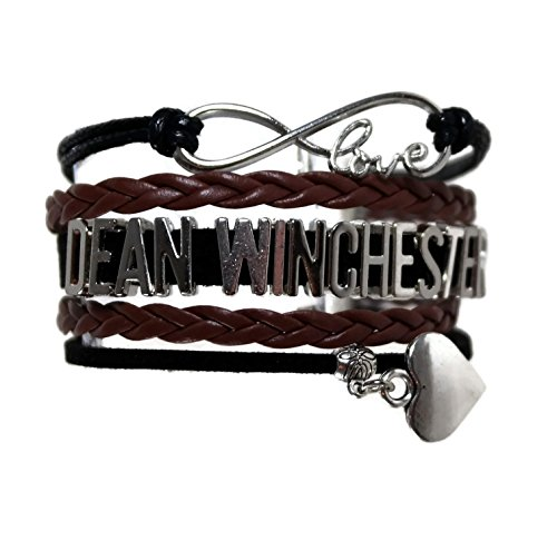 Show & Shine Supernatural Infinity Love Dean Winchester Multi Strands Layer Charm Bracelet by Show & Shine