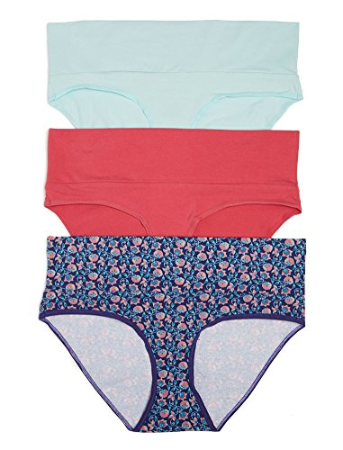 Motherhood Maternity Fold Over Panties  3 Pack