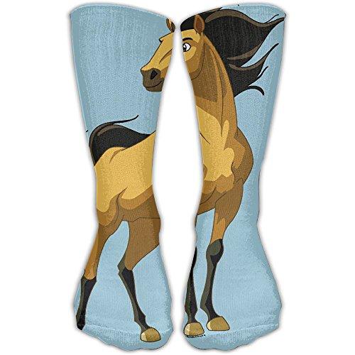 Women Men Classics Socks Spirit Stallion Of The Cimarron Athletic Stockings 30cm Long Sock One Size
