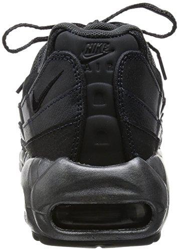 Nike WMNS Air Max 95 PRM, Chaussures de Sport Femme Noir (Mtlc Hématite / Noir-anthracite)