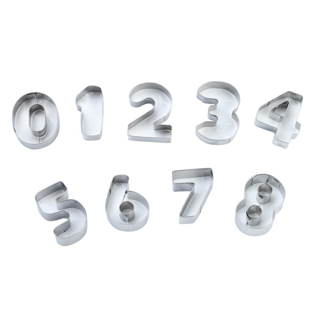 Rawdah molde para galletas de símbolo Digital 1 conjunto ...