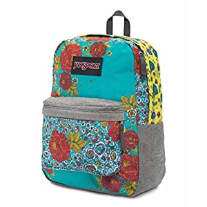 JanSport Super FX Series Backpack (One Size, Multi Patchwork Posey)