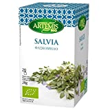 ARTEMIS BIO - SAGE Tea bags - 20 bags x 4 boxes = 80 tea bags
