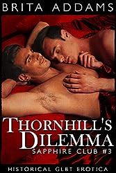 Thornhill's Dilemma: Sapphire Club Book Three