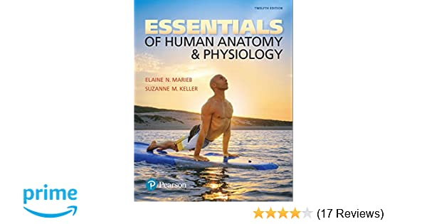 Essentials Of Human Anatomy Physiology 12th Edition 9780134395326 Medicine Health Science Books Amazon