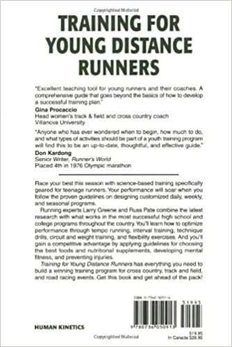 Training for Young Distance Runners - 2E: Larry Greene, Russell ...