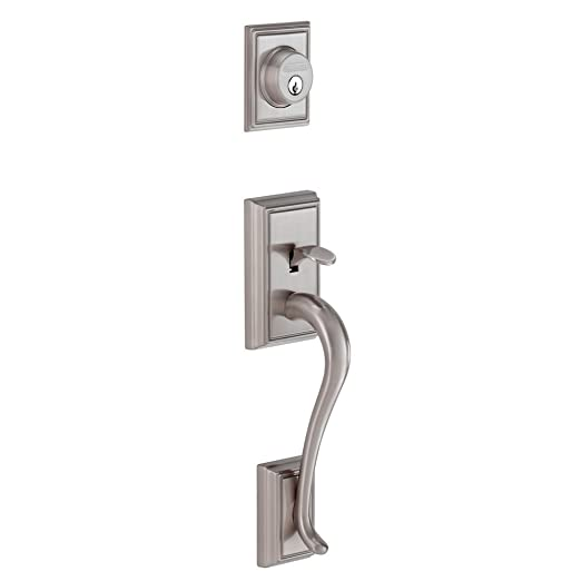 Luxury Entry Door Handleset with Deadbolt