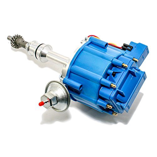 Assault Racing Products 1046013 Ford One Wire HEI Conversion Blue Distributor Complete w/ Coil 351C 351M 400 429 460