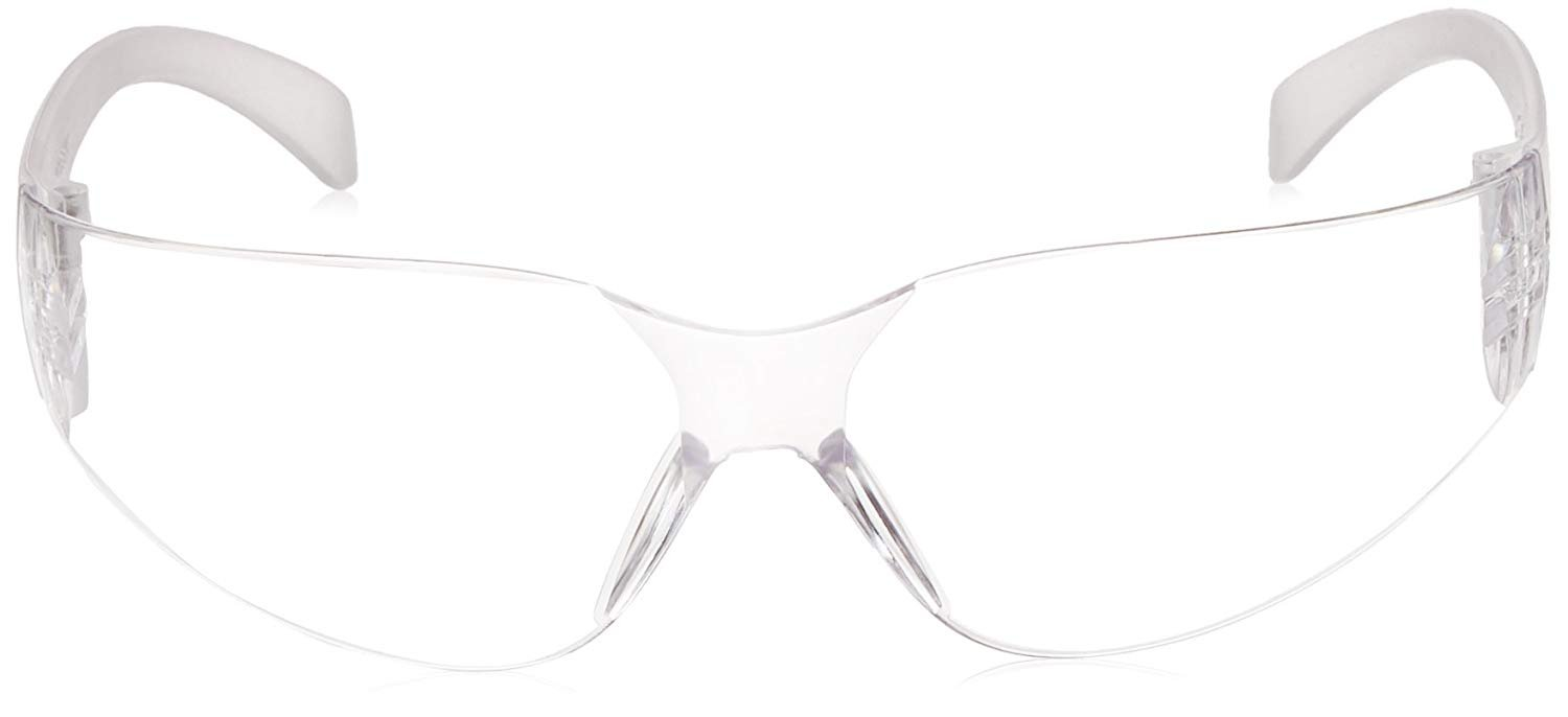 BISON LIFE Safety Glasses, One Size, Clear Polycarbonate Lens, 12 per Box (1 box) by BISON LIFE (Image #5)