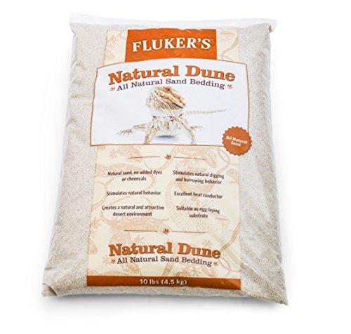 - Fluker's Natural Dune Reptile Sand, 10 lb