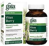 Gaia Herbs Vitex Berry, Vegan Liquid Capsules, 60 Count – Hormone Balance for Women, Organic Vitex Chasteberry Extract (1000 mg) Review