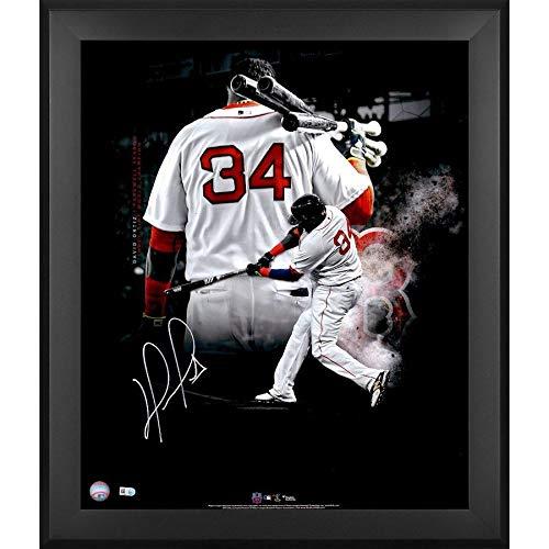David Ortiz Boston Red Sox Signed Autographed 20x24 Photo Framed Fanatics