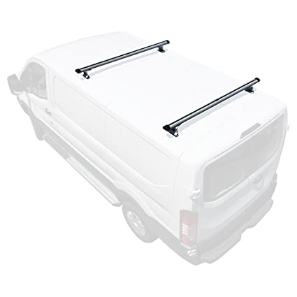 Cargo 2015-On 3 bar rack Low Profile 54 Bars Aluminum H1 3 Bar System Aluminum, Silver Transit