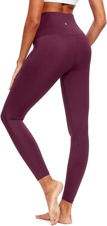 QUEENIEKE Leggings de Yoga à Taille Haute Pantalons Collants