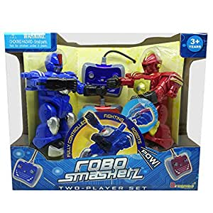 Dragon iToys Robo Smasherz Twin Pack Blue and Red