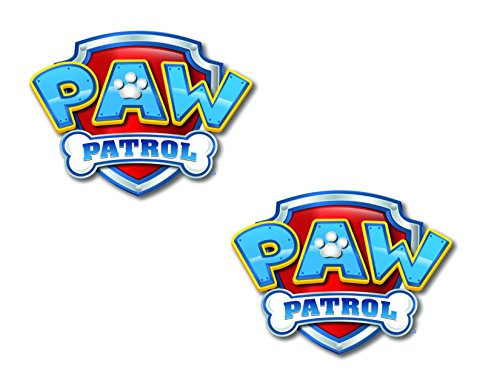 Logo Cake Decoration - Paw Patrol Logo Sheet Edible Photo Birthday Cake Topper Frosting Sheet Party (4 Inch)