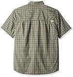 Quiksilver Waterman Men's Wake Uv Protection Button Down Shirt, Beetle, L