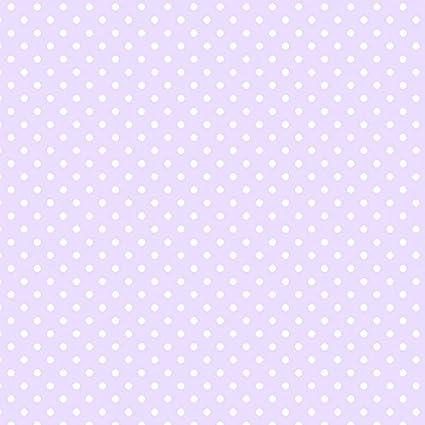 Patton Cm28651 Small Polka Dot Wallpaper Light Purple