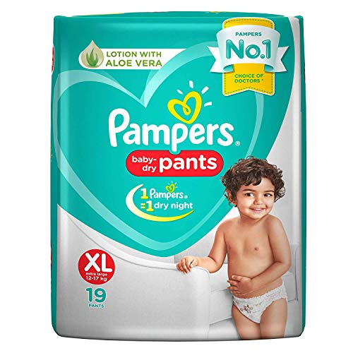 Pampers Diaper Pants, XL, 19 Count
