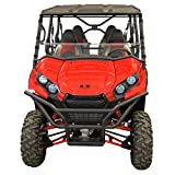 Kawasaki Teryx (2016 and newer) Full Folding Scratch Resistant UTV Windshield. Ultimate versatility! Full, half or off in seconds. Premium poly w/ Hard CoatMade in America!!