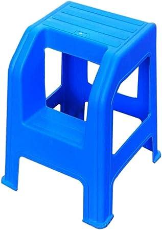 Escalera Multifunción, Taburete De 2 Escalones Escalera De Embarque De Plástico Escalera De Dos Niveles Adecuada for Uso En La Cocina Taburete De Pie Taburete De Belleza for Automóvil: Amazon.es: Hogar