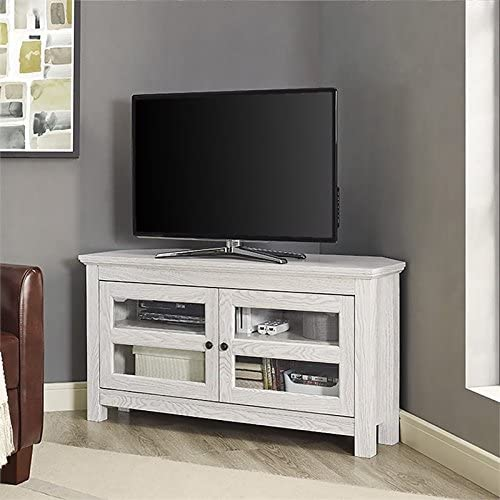Pemberly Row 44″ Corner TV Stand