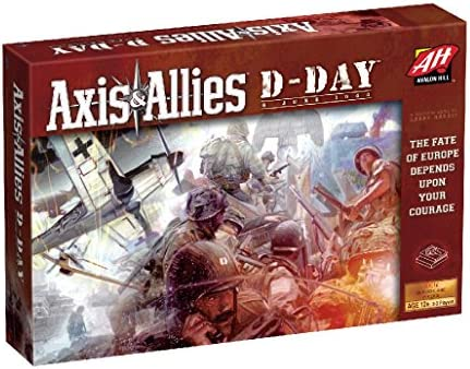 Avalon Hill Axis & Allies D-Day Game: Amazon.es: Juguetes y juegos