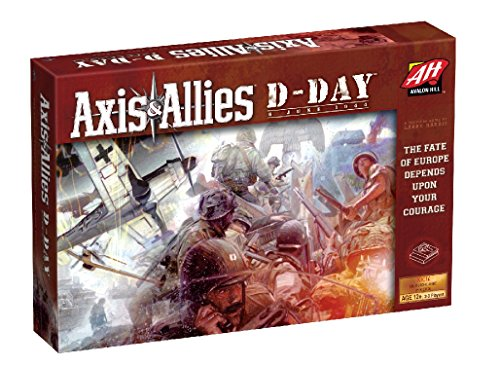 Avalon Hill Axis & Allies Juego, D-Day