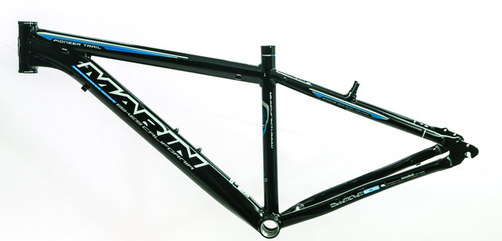 22'' MARIN PIONEER TRAIL 26'' Alloy Hardtail MTB Bike Frame Disc Black/Blue NEW