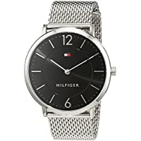 Tommy Hilfiger Men's 'Sophisticated Sport' Quartz Stainless Steel Watch, Color:Silver-Toned (Model: 1710355)
