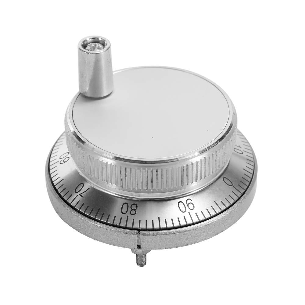 KKmoon 60mm DC 5V CNC Pulser Handwheel 100 Manual Pluse Generator Hand Wheel Machine Rotary Encoder Electronic 6 Pins
