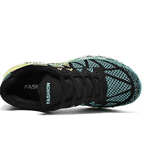Schwarz de grün homme course pour YIRUIYA Chaussures x0qTXwn1