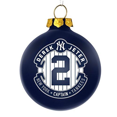 new york yankees derek jeter 2 the captain commemorative 2014 christmas ornament mlb baseball 2 34 buy online in oman misc