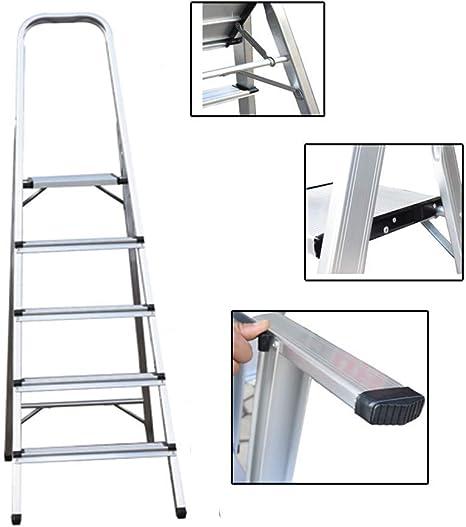 La escalera telescópica de 6.2M viene con el kit de gancho para techo Escaleras de extensión plegables portátiles de aluminio multiuso EN 131 para constructores de exteriores e interiores Proyector: Amazon.es: Deportes
